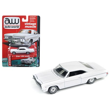 Impala Police Car - 1966 Chevrolet Impala Gloss White