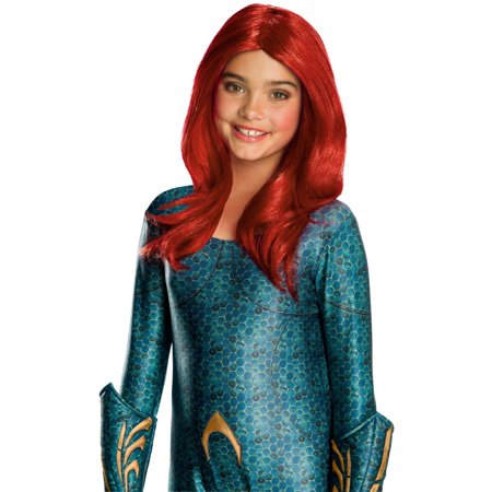 Halloween Aquaman Movie Kids Mera Wig](Red Wig For Kids)