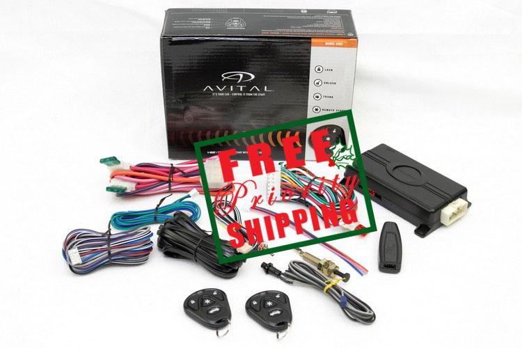Avital Avistart 4103 Remote Auto Car Start Starter & Keyless Entry System 4103L by Avital