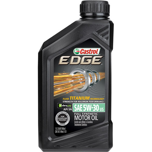 Castrol EDGE 5W-30 Full Synthetic Motor Oil, 1 QT by Castrol