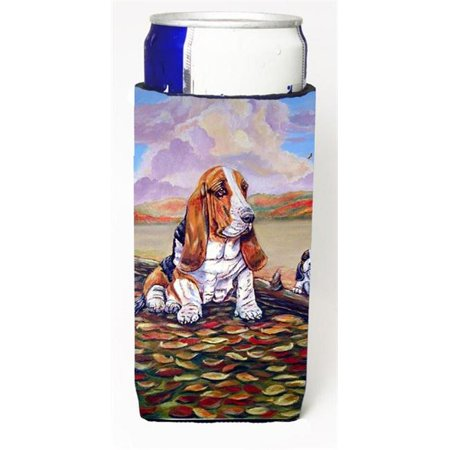 Carolines Treasures 7004MUK Basset Hound Michelob Ultra s For Slim Cans - 12 oz. - image 1 de 1