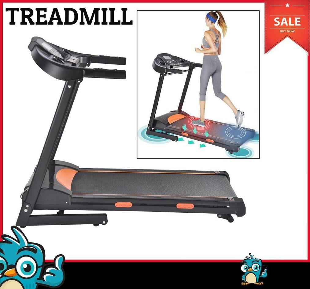 Electric treadmill running machine 1000W Walking Electric Treadmill electric folding treadmill 60Hz with LED display screen