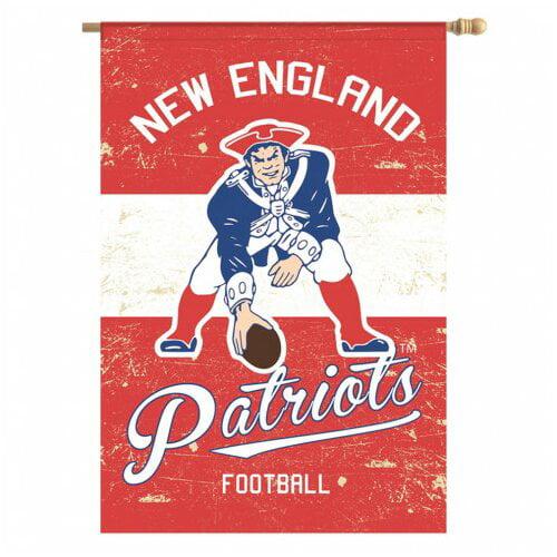 Team Sports America NFL Vintage Linen 2-Sided Garden Flag