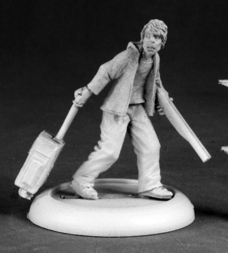 Reaper Miniatures Denver, Zombie Survivor #50199 Chronoscope D&D RPG Mini Figure