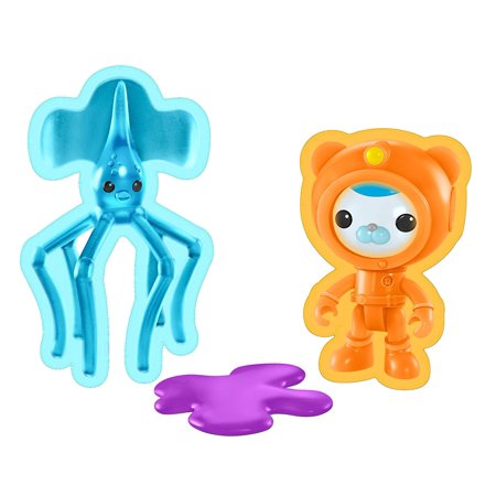Fisher-Price Octonauts Barnacles & the Long Armed Squid Toy Playset, Octo-cadets will love helping Barnacles rescue the long armed Squid from the sea slime! By FisherPrice](Barnacles Octonauts)