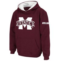 Mississippi State Bulldogs Stadium Athletic Youth Big Logo Pullover Hoodie - Maroon