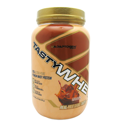 Adaptogen Science Tasty Whey Sea Salt Caramel - 2 LBS