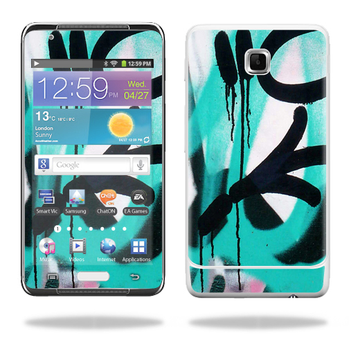 Mightyskins Protective Vinyl Skin Decal Cover for Samsung Galaxy Player 4.2 MP3 wrap sticker skins Graffiti Tagz
