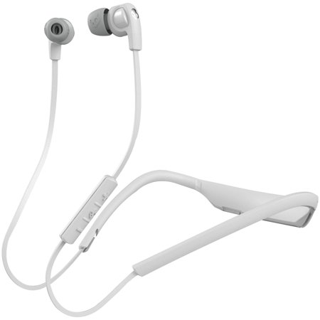 Skullcandy S2PGHW-177 In-Ear Smokin' Buds 2 Bluetooth Wireless Headphones with Microphone