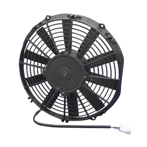 "SPAL 11"" 808 CFM Low Profile Electric Cooling Fan P/N 33600"