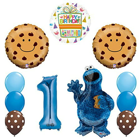 NEW! Sesame Street Cookie Monsters 1st Birthday party - Monster Themed Birthday