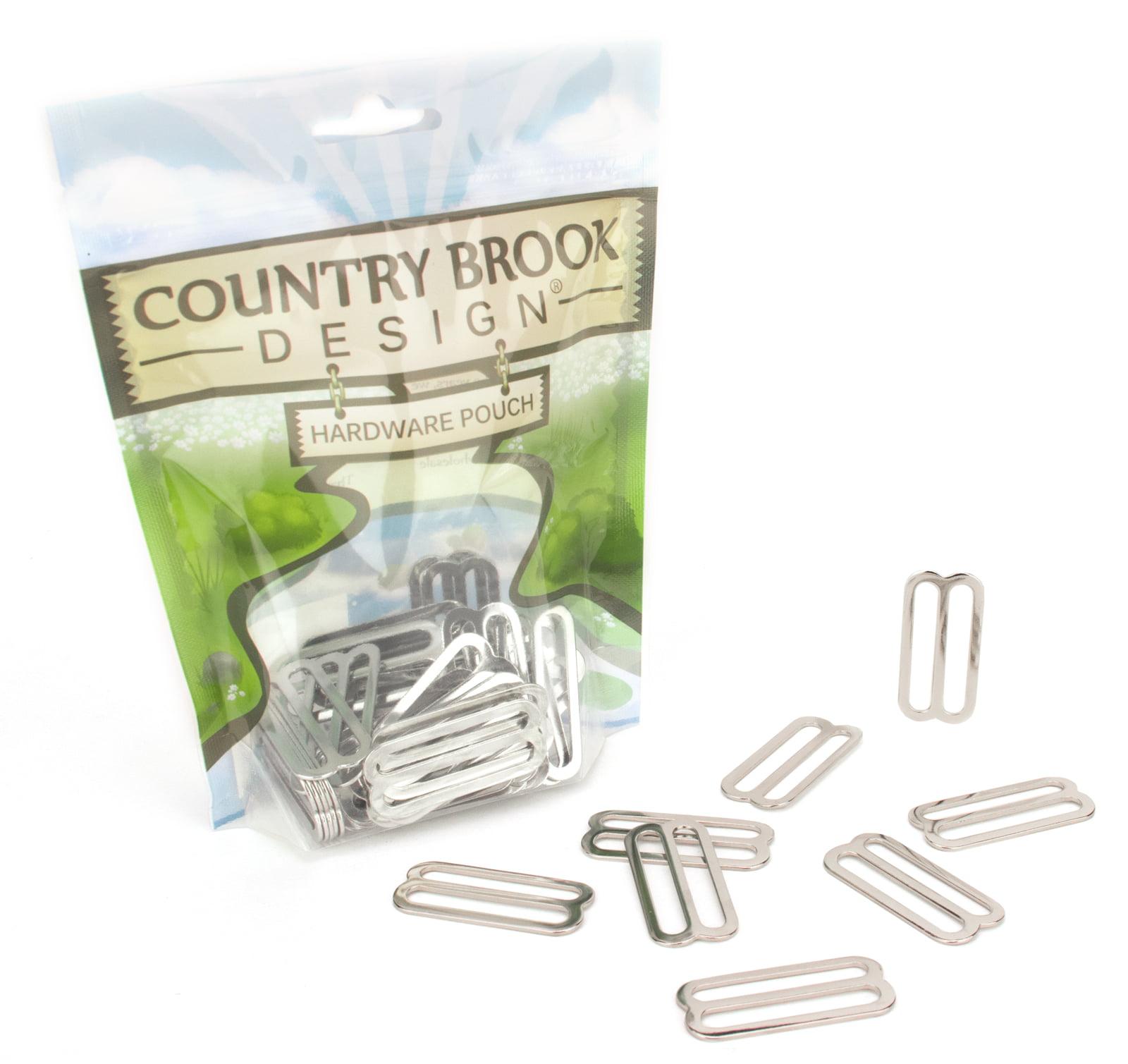 Country Brook Design® 1 1/2 Inch Metal Triglide Slides