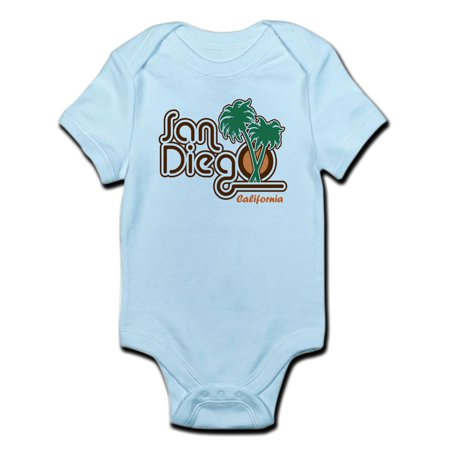 CafePress - San Diego CA Infant Bodysuit - Baby Light - Baby Diego
