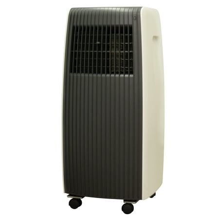 Sunpentown 8,000-BTU Portable Air Conditioner, Black/Tan, WA-8070E