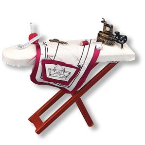 Dollhouse Ironing Board Set