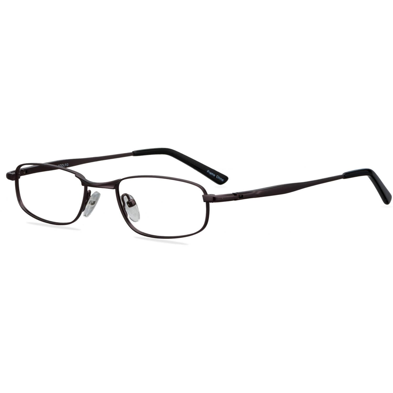 ADOLFO Boys Prescription Glasses, Home Run Dark Gunmetal