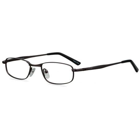 Image of ADOLFO Boys Prescription Glasses, Home Run Dark Gunmetal