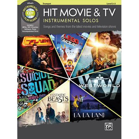 Hit Movie & TV Instrumental Solos : Songs and Themes from the Latest Movies and Television Shows (Trumpet), Book & CD