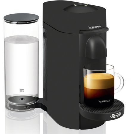 Nespresso VertuoPlus Coffee and Espresso Machine by De'Longhi, Limited Edition, Black Matte