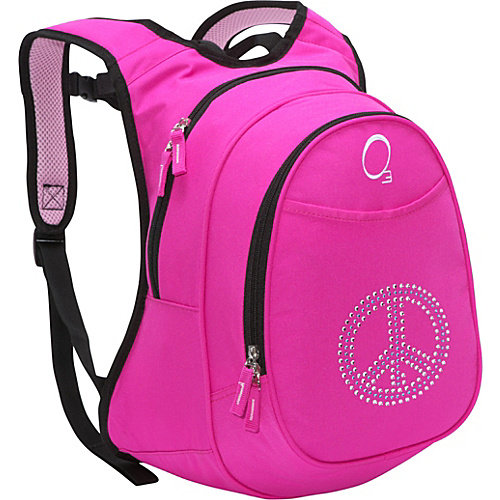 Obersee Kids Pre-School Peace Backpack with Integrated Lunch Cooler