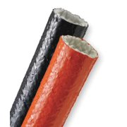 TECHFLEX FIN0.50RD5 Sleeving,0.500 In.,5 ft. L,Red