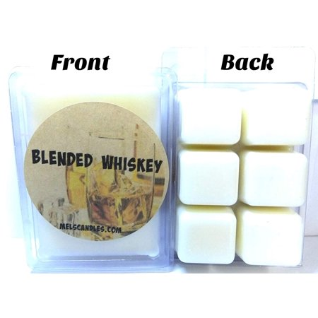 Soy Wax Blend - Blended Whiskey- 3.2 Ounce Pack of Soy Wax Tarts - Scent Brick, Wickless Candle