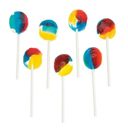 Sugar-Free Rainbow Lollipops - Fun Lollipop Bouquet