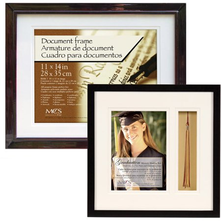 graduation document frame with tassel tack 13x19 set of 2