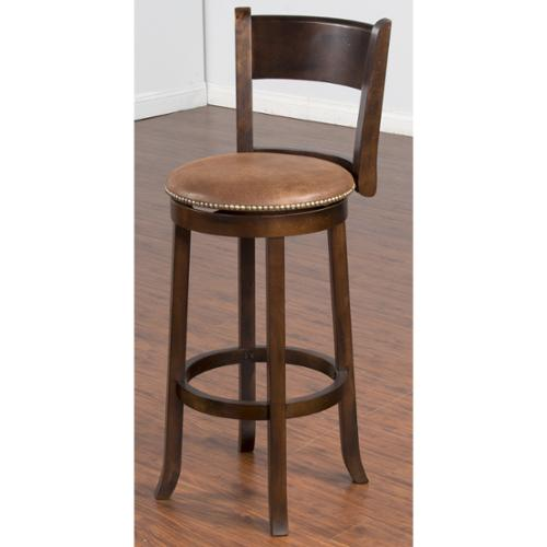 Sunny Designs Santa Fe Swivel 30 Inch Bar Stool Walmart Com