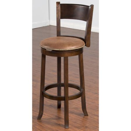 sunny designs santa fe swivel 30 inch bar stool. Black Bedroom Furniture Sets. Home Design Ideas