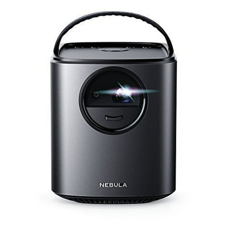 Nebula Mars Lite By Anker Theater-Grade Portable Cinema with Ultra-Bright HD Picture, High-Quality Audio and Super-Long Playtime, Black (New Open