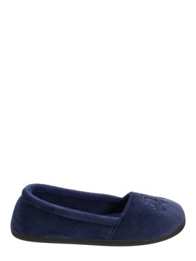 faca7a59fb Product Image DF by Dearfoams Women s Velour Closed Back Slippers