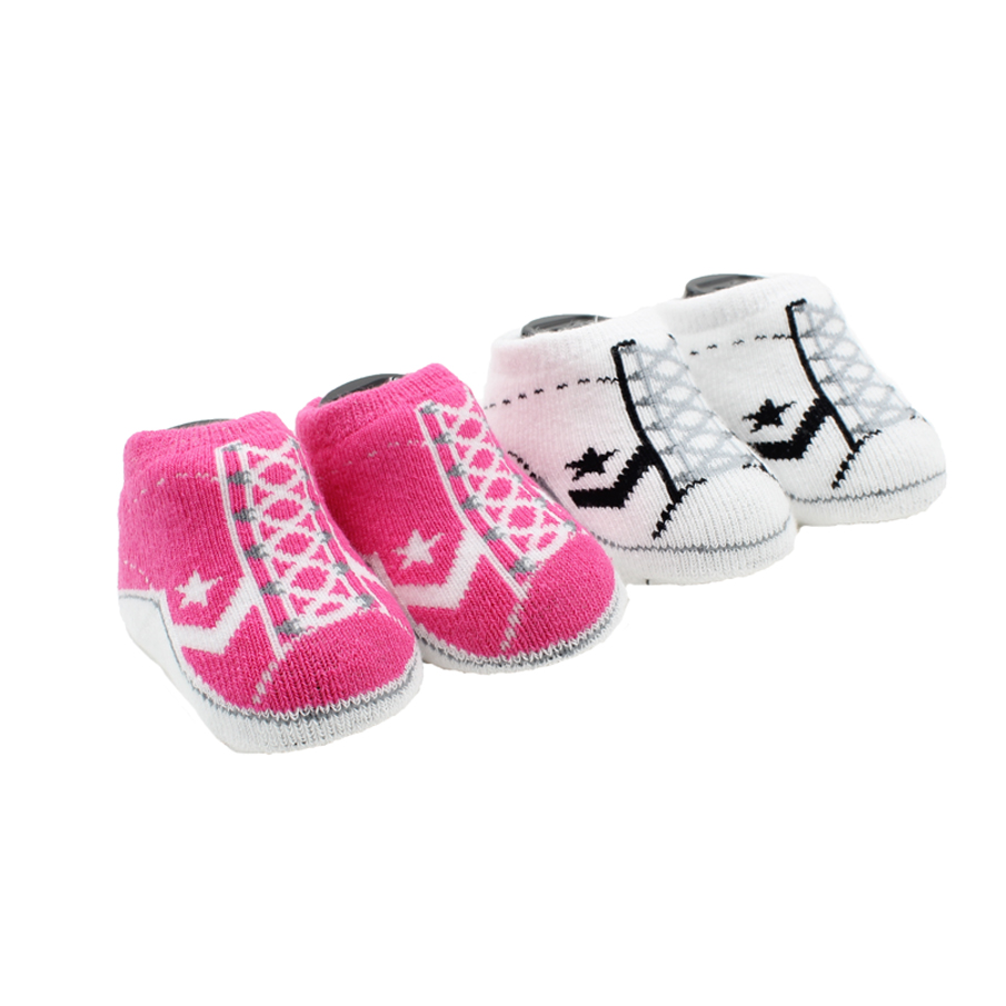 Star Infant Booties Socks-2 Pack
