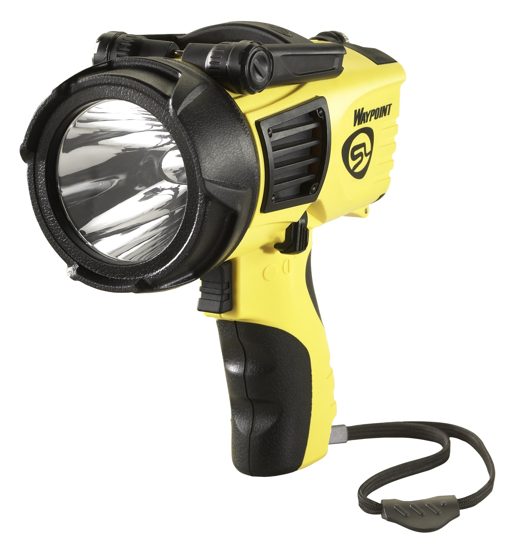 Streamlight Waypoint Pistol Grip LED Spotlight, Yellow by Streamlight