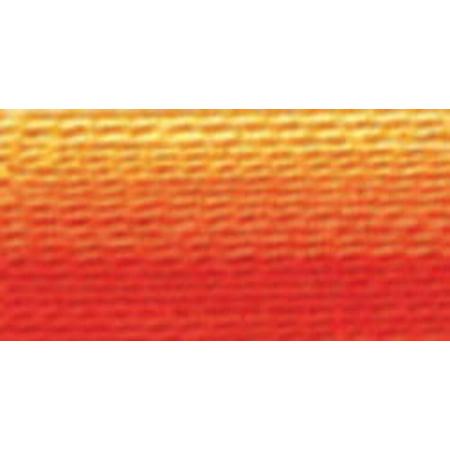 DMC Pearl Cotton Skein Size 5 27.3yd-Variegated Burnt Orange Dmc Tapestry Wool Skein