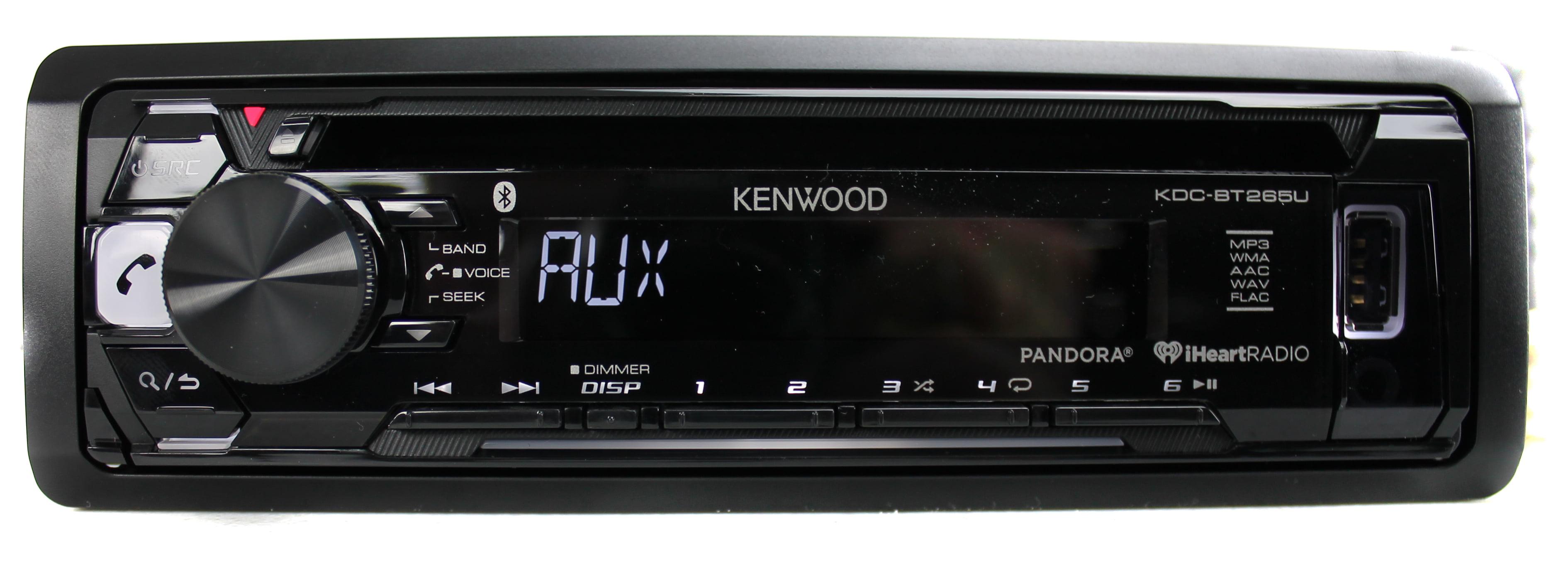 kenwood kdc bt265u bluetooth cd mp3 smartphone player car. Black Bedroom Furniture Sets. Home Design Ideas