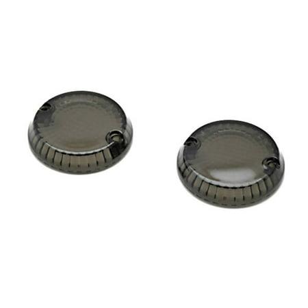 Kawasaki Mean Streak Backrest (Krator Smoke Turn Signal Lens Lenses Indicator Blinkers For Kawasaki Vulcan 1500 Mean Streak 2002-2003 )