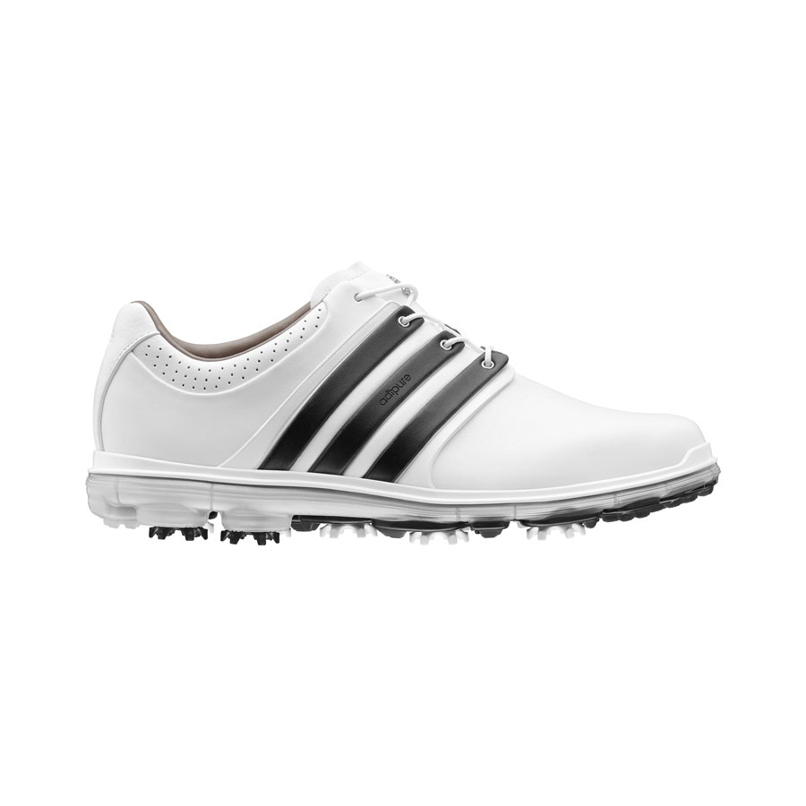Adidas Mens Pure 360 LTD Leather Colorblock Golf Shoes