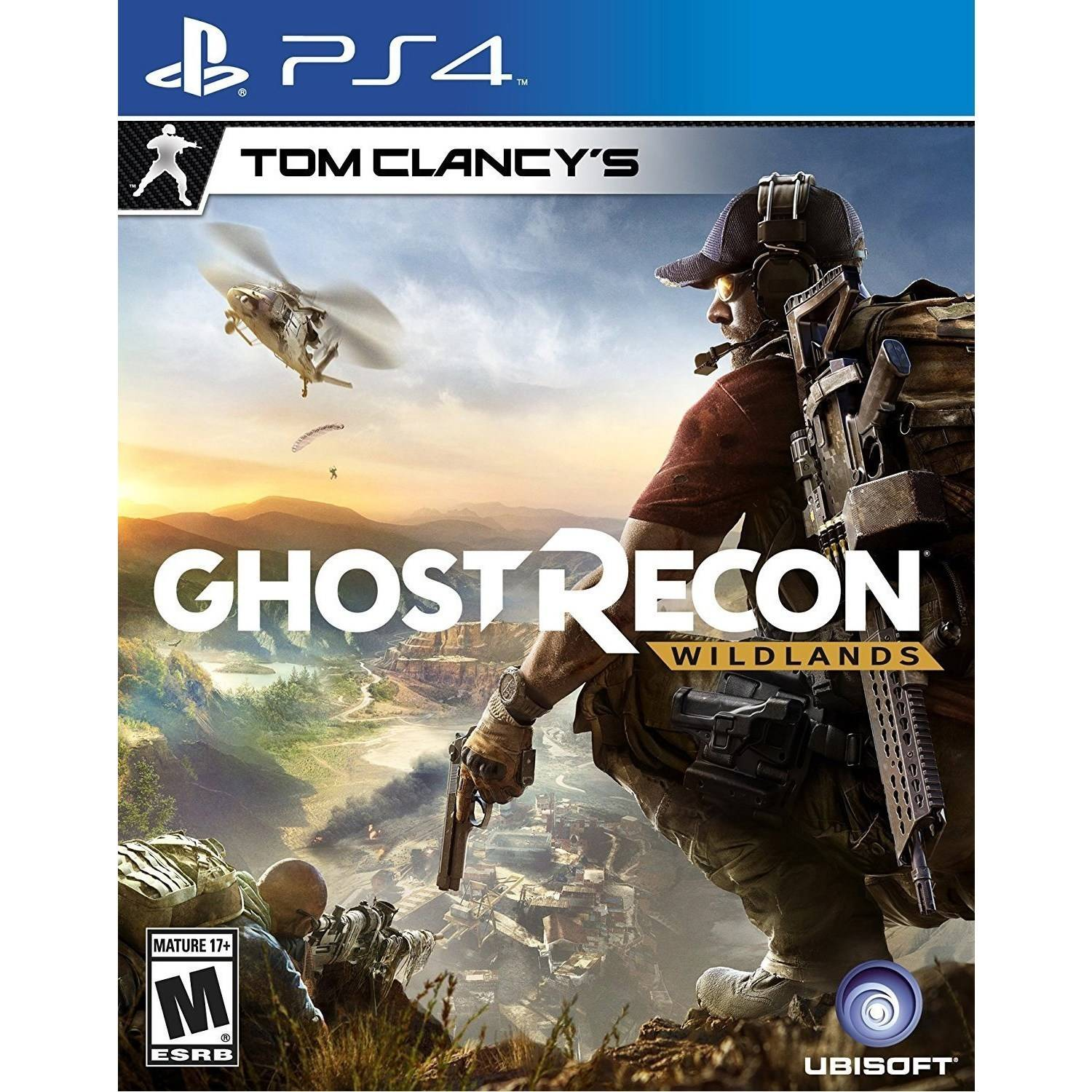 Tom Clancy's Ghost Recon: Wildlands Day 1 Edition, Ubisoft, PlayStation 4, 887256015725