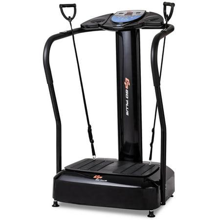 Goplus 2500W Crazy Fit Full Body Vibration Platform Fitness Machine W Mp3 Player