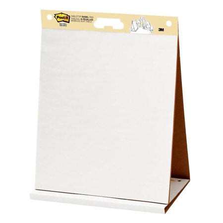 Post-it Self-Stick Tabletop Easel Pad, 20