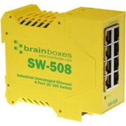 INDUSTRIAL ETHERNET 8PORT SW -22 TO+176 DEGF GALVANIC ISOLATION