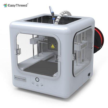 Easythreed Desktop 3D Printer Dora for Children Students Beginners No Assembling No Heated Bed 140 * 140 * 120mm Print