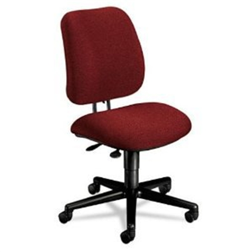 HON 7700 Series Multi-Task Swivel Chair, Burgundy 7703AB62T