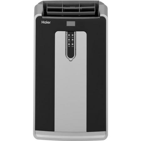 500 Base Unit - Haier 14,000 BTU Dual Hose Portable Air Conditioner w/ Heat HPND14XHT Refurbished