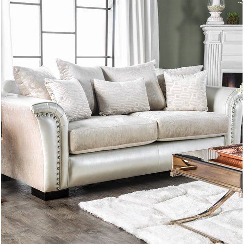 Latitude Run Calton Contemporary Sofa