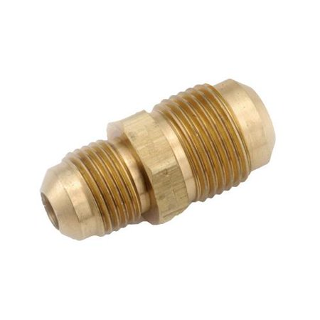 Anderson Metals 754056-0806 Pipe Fittings, Flare Reducing Union, Lead-Free Brass, 1/2 x