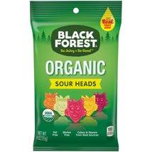 Gummy Candies: Black Forest Organic Sour Heads