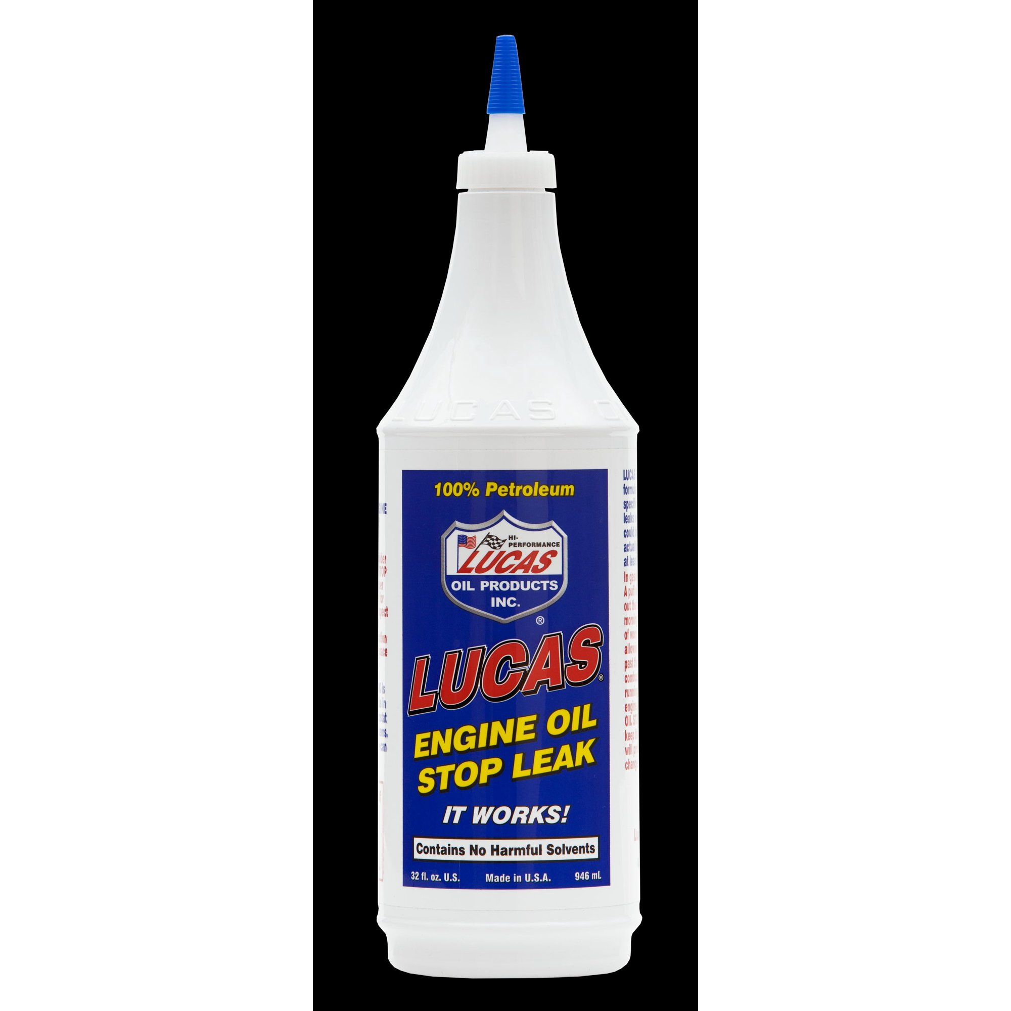 Lucas Oil 10278 Oil Additive Use With Synthetic And Semi-Synthetic Oil