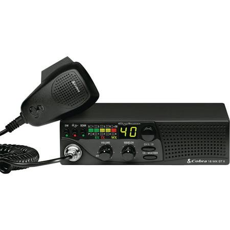 Cobra Cb Accessories (Cobra 18WXSTII Compact CB Radio with Weather & Soundtracker )